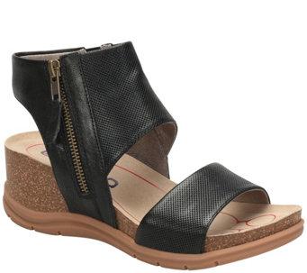 1d2f2e7aad76f9 Bionica Leather Wedge Sandals - Palontina - A425122