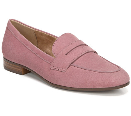 Naturalizer Leather Slip-On Loafers - Juliette