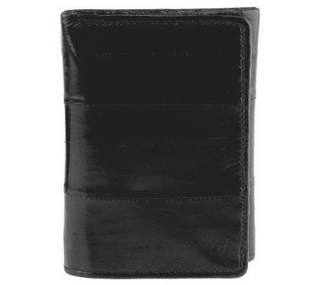 Lee Sands Men's Eelskin Trifold Wallet