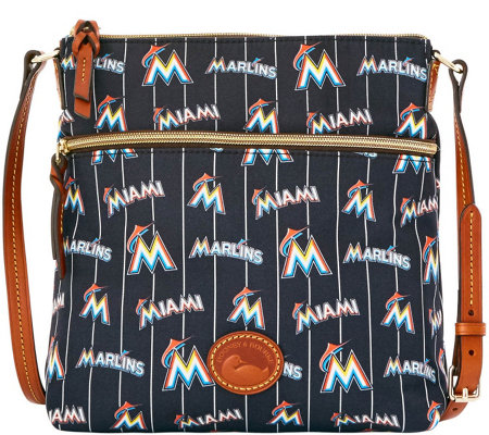 Dooney & Bourke MLB Nylon Marlins Crossbody