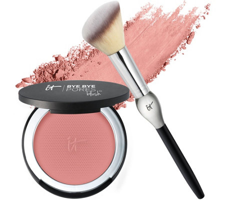 IT Cosmetics Bye Bye Pores Blush with Brush Auto-Delivery