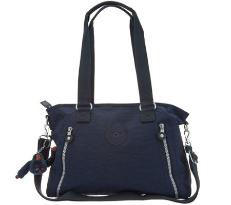 """As Is"" Kipling Nylon Satchel Handbag- Angela"