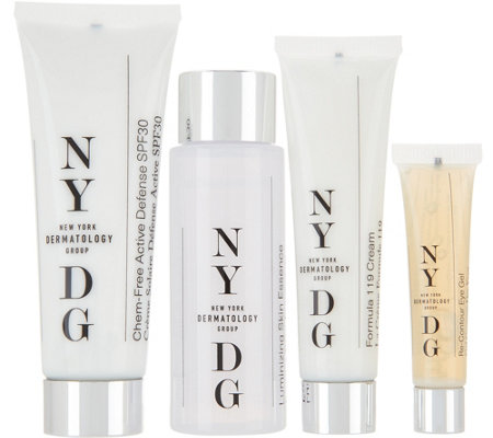 NYDG Skincare 4-piece Discovery Kit