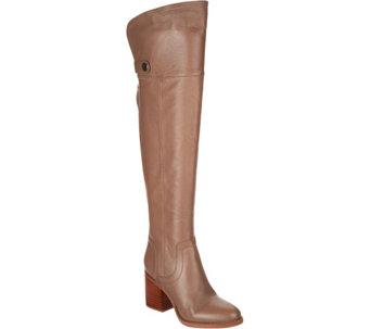 2e2190a3e89 Franco Sarto Medium Calf Leather Over-the-Knee Boots - Ollie - A298319