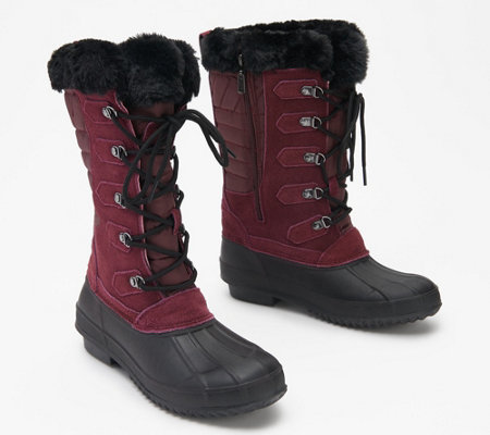 Khombu Tall Lace-Up Waterproof Boots - Colyn