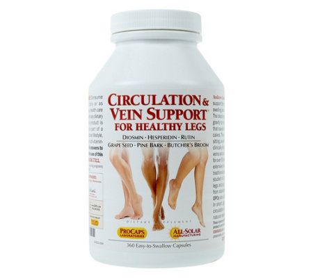 Andrew Lessman Circulation and Vein Support 360 Capsules