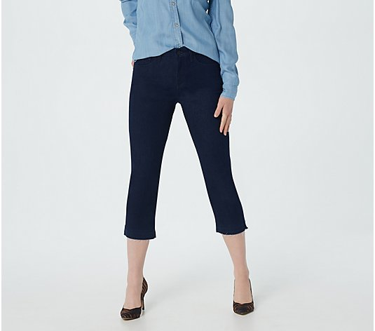 NYDJ Skinny Crop with Released Hem - Rinse