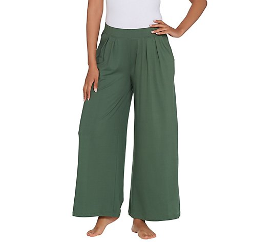 Cuddl Duds Flexwear Relaxed Wide Leg Pants