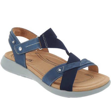 Earth Leather Adjustable Sandals - Bali