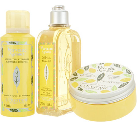 L'Occitane Citrus Verbena 3-Piece Body Set