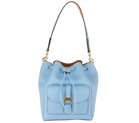 Dooney & Bourke Emerson Leather Drawstring Bag - Marlowe