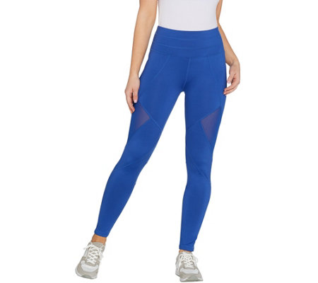 Tracy Anderson for G.I.L.I. Leggings with Mesh Panels
