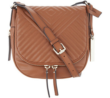 Vince Camuto Quilted Leather Crossbody Bag - Bailey - A342324