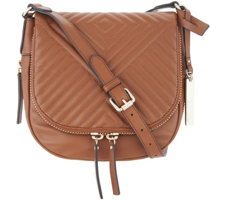 Vince Camuto Quilted Leather Crossbody Bag - Bailey