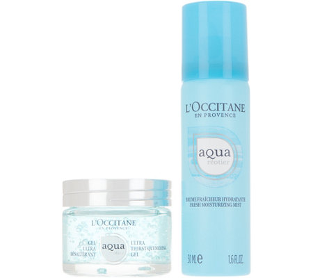 L'Occitane Aqua Gel & Hydrating Mist