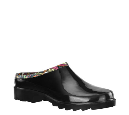Sakroots Rubber Rain Clogs - Root