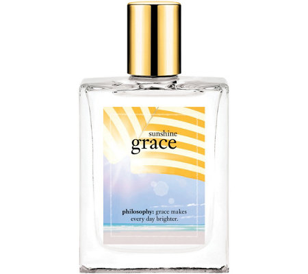 philosophy sunshine grace eau de toilette, 4 oz