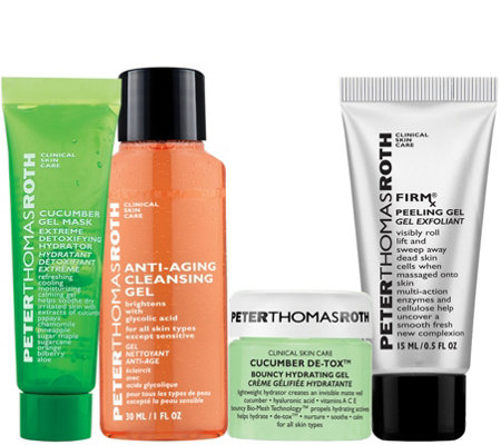 Peter Thomas Roth Facial On the Go 4-Piece Kit