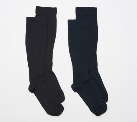 Legacy Men's Graduated Compression Socks Set of 2