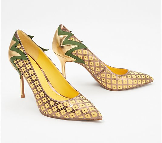 Katy Perry Novelty Pineapple Pumps - The Pinya