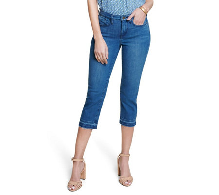 NYDJ Skinny Crop with Released Hem - Marchant