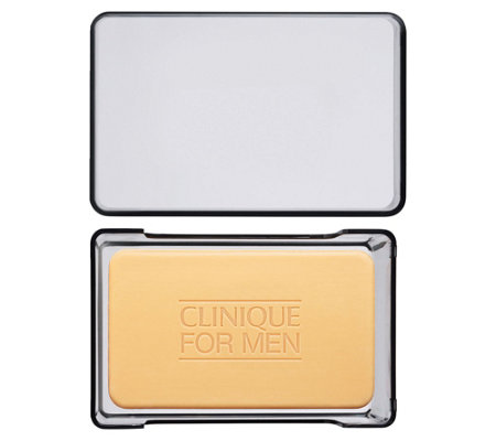Clinique For Men Face Soap with Dish, 5.2 oz