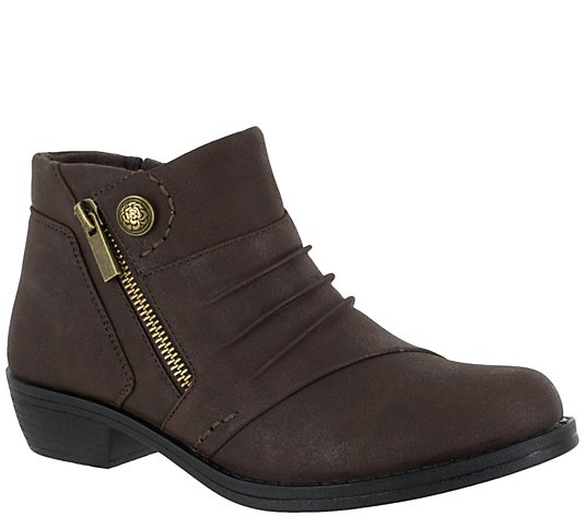Easy Street Comfort Booties - Sable