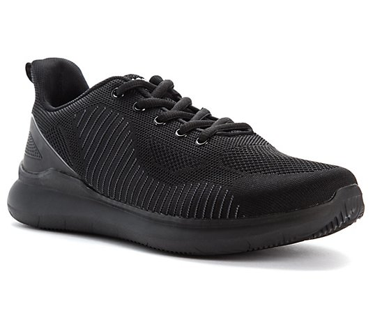 Propet Men's Water-Resistant Knit Sneakers - Viator Fuse