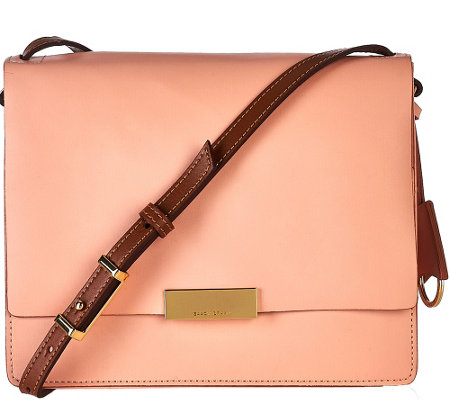 Isaac Mizrahi Live! Whitney Leather Shoulder Bag