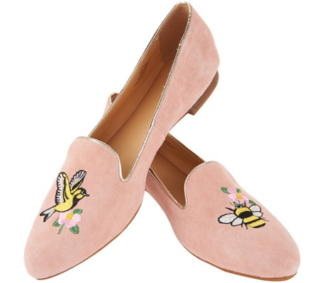 "C. Wonder ""Birds & Bees"" Suede Loafers - Clarissa"