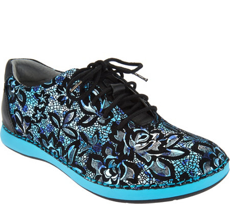 Alegria Leather Lace Up Shoes Essence