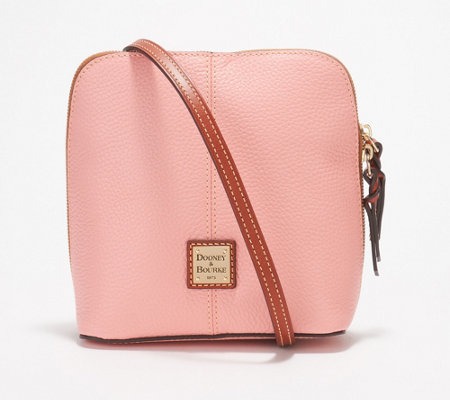Dooney & Bourke Pebble Leather Crossbody Handbag -Trixie