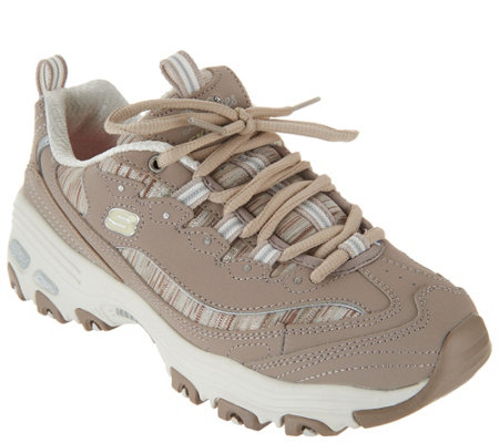 Skechers D'Lites Lace-Up Sneakers - Interlude