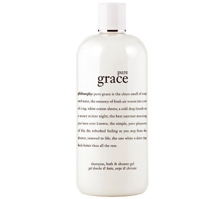 philosophy pure grace shower gel, 16 oz