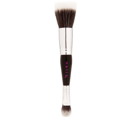 Mally Beauty Double-Ended Face & Eye Brush