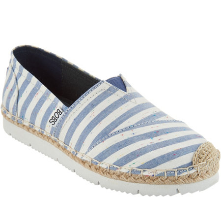 """As Is"" Skechers BOBS Espadrille Slip -On Shoes- Flexpadrille2"