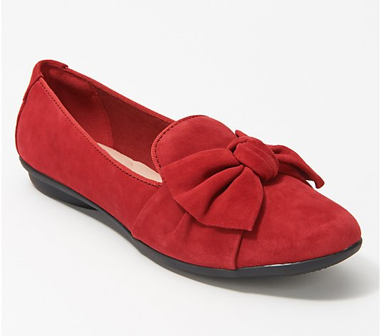 Clarks Collection Bow Detailed Flats - Gracelin Jonas