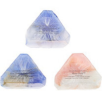 SoapRockettes Winter Gems Set of 3 Gemstone Soaps - A344425