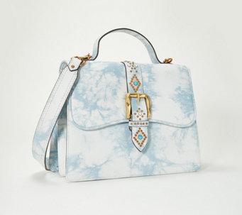 7b67534fa2d6 Aimee Kestenberg Leather Top Handle Bag - Shine Away - A353625