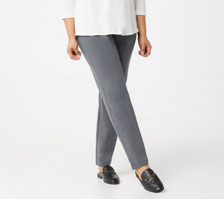 Susan Graver Petite Weekend Premium Stretch Drawstring Pant