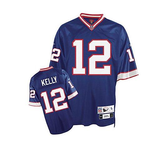 NFL Buffalo Bills Jim Kelly Premier Throwback Jersey - QVC.com