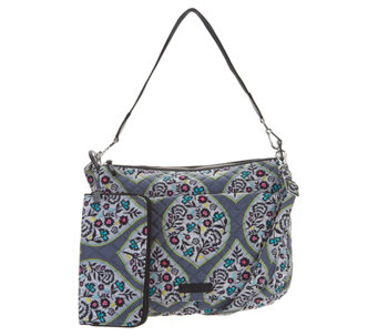 726a6ee4ce04 Vera Bradley Signature Carson Shoulder Bag with RFID Zip Wallet - A304126