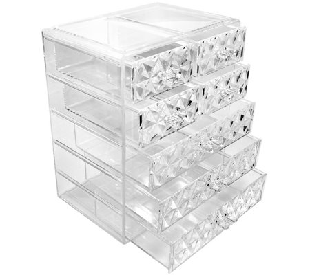 Sorbus Makeup and Jewelry Storage Case with 7 Drawers