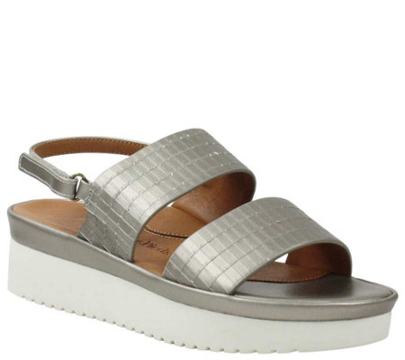 L'Amour Des Pieds Leather Sandals - Abruzzo