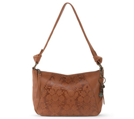 The Sak Rialto Leather Hobo Handbag