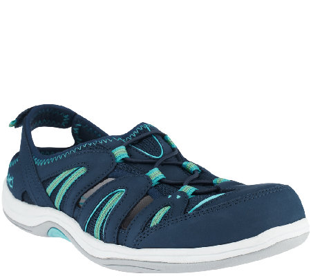 Ryka Leather & Mesh Fisherman Sneakers - Hula