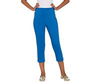 Joan Rivers Regular Joans Signature Pull-On Crop Pants - A301827