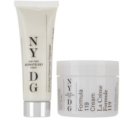 NYDG Skincare Formula 119 Cream with Travel Cleanser