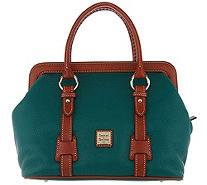Dooney & Bourke Pebble Leather Satchel Handbag - Mitchell - A309427