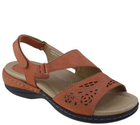 Earth Leather Sandals - Arbor